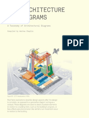 diagrams in architecture pdf the architecture of diagrams  the architecture of diagrams