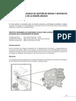 RIESGOS Y RESPUESTAS SISMOLOGIA REGIONAL