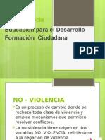 No - Violencia