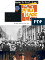 The Bauhaus & Saul Bass FINAL