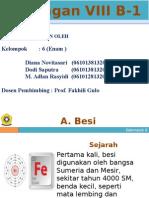Unsur Transisi Golongan VIII B