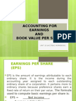 Unit 10- Accounting for Earnings