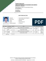 07212189 Kartu Rencana Studi