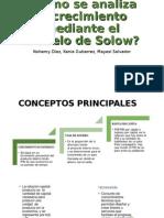 Modelo de Solow Analsis
