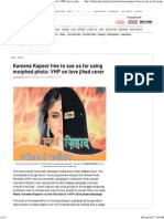Kareena Kapoor Free to Sue Us - VHP on Love Jihad Cover Photo