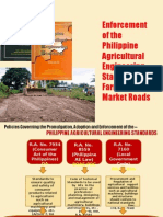 Enforcement of Paes Farm to-market Roads