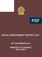 Fiscal Management Report 2016