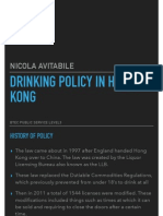 pdf drinking policy in hong kong