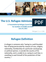 Refugee Council USA Report
