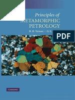 Principles of Metamorphic Petrology  - Ron Vernon 2008.pdf