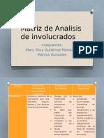 Matriz de Analisis de Involucrados_presentacio