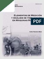 Elementos de Medicion y Analisis de Vibraciones Mecanica en Maquinas Rotatorias - Evelio Palomino Marín