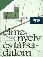 John R. Searle - Elme, Nyelv És Társadalom