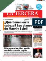 Diario La Tercera 20.11.2015