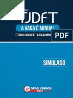 Simulado Tjdft Tec Edital