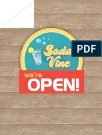 soda vine book