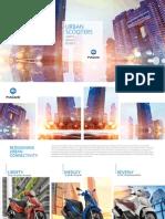 Piaggio Catalog Brochure 2016