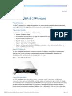 Cisco 100GBASE CFP Modules