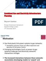 8 Meysam Qadrdan - Combined Gas and Electricity Infrastructure Planning
