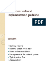 Ethiopia MSD_Patient Referral System Implementation Guideline