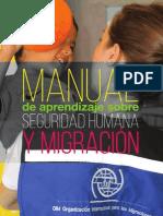 Manual de Aprendizaje Sobre Seguridad Humana y Migracion