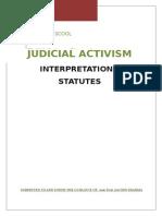 Project on Judicial Activism