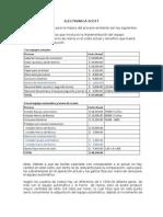 Gerencia de Operaciones - Electronica SCOTT