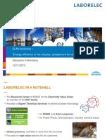 Energy Efficiency in the industry - Complement for Renewable Energies - Sebastian Falkenberg, Laborelec