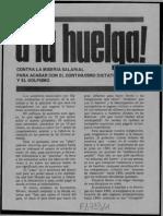Política Obrera, Volante (Agosto de 1982)