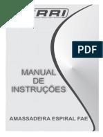 Manual Amassadeira FAE - FERRI
