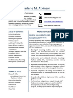 resume training  1