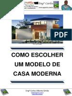 Como Escolher um Modelo de Casa Moderna