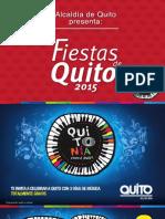 Agenda Fiestas de Quito 2015