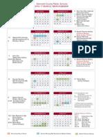 Gwinnett Schools Calendar 2016-17