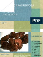 receta del quijote ppt