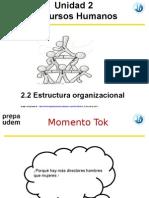 GE RH 2.2 Estructura Organizacional Guia 2016