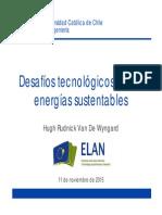 Desafíos Tecnológicos de las Energías Sustentables - Hugh Rudnick