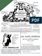 Le Magicien, journal des sciences occultes, physiologiques, philosophiques et magnétiques N°94