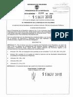 Decreto 2200 Del 11 de Noviembre de 2015