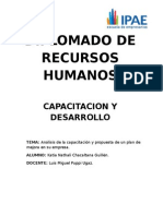 Capacitacion y Desarrollo Trabajo-katia Chacaltana