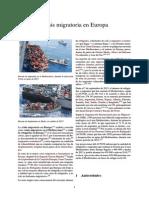 Crisis Migratoria en Crisis migratoria en EuropaEuropa