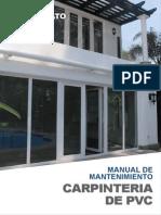 Carpintería PVC Miyasato Mantenimiento Pvc