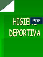 HIGIENE DEPORTIVA