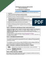 REQUISITOS REPOS DE PLACAS DE CIR