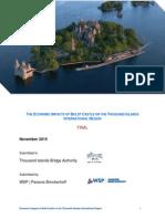 Boldt Castle Economic Impact Analysis