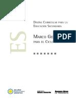 Resolución 3828 de 2009 Marco General Ed Sec Ciclo Superior