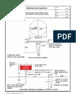0560-W1-Bench Mark o Hito Permanente Monumento y Detalle de Cartel
