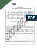Decreto 4767-72 Manual de Cooperadoras Escolares