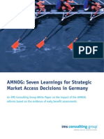 AMNOG Seven Learnings Strategic Access Germany