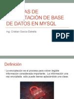 Técnicas de Encriptación de Base de Datos en Mysql